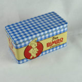 Metal Rectangular Tin Box for Gifts Packing