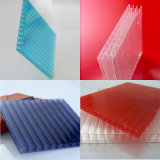 UV Protection Polycarbonate Four-Wall Hollow Sheets Roofing Panels