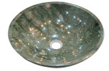 Polished Green Marble Stone Wash Basin for Kitchen/Bathroom/Toilet