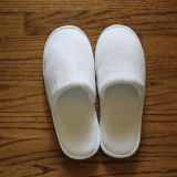 Coral Fleece White Hotel Disposable Anti-Slip Slipper