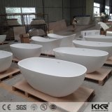 Hot Selling Artificial Stone Freestanding Bathtub