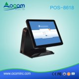 "Frameless 15"" Touch Screen POS System Electronic Cash Register"