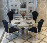 Cheap Marble Top Dining Table Set Made in China