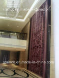 Partition to Solid/Hollow Screen/Perforated /Hollow Carved Screen Metal Fabrication