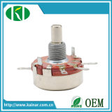 2W Rotary Carbon Film Potentiometer with Metal Shaft Wh118-1A