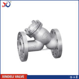 Manufacturer Y Type Flanged Casted Steel Strainer