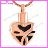 Remembrance Jewelry Gold Plating/Rose Gold Heart Pendants for Someone Loved Ijd9524