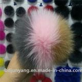 Fantastic Fox Fur Ball Hair Clips POM POM Bag Accessory