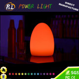 Decorative Wireless Colorful Illuminated LED Egg Lamp for Easter