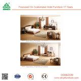 Wholesale Hotel Modern Furniture Iron Wood Bedroom Set