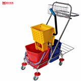 Multifuction Side Press 34L Hotel/Restaurant/Super Market Cleaning Mop Trolley
