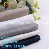 Cotton Linen Soft Fabric for Textile Garments (GLLML469)