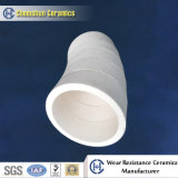 Alumina Ceramic Pipe Lining Used in Conveyance of Pulverized Coal to Fuel a Boiler