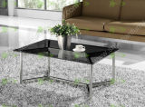 (SJ-121) Home Furniture Modern Tempered Glass Coffee Table