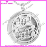 316L Stainless Steel Diffuser Perfume Lockets Pendant Essential Oil Lockets Necklace