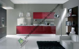 Modern White Acrylic Kitchen Cabinet Door Island (zs-457)