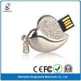 Elegant Jewelry Heart USB Flash Drive for Lovers