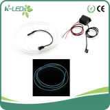 1m 12V EL Wire in Car White
