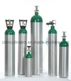 Lightweight Ambulance Breathing Oxygen Cylinders Made From Aluminum Alloy Al6061