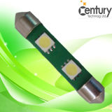 Hot 2PCS LED Festoon Auto Light