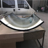 6+9A+6mm Curved Clear Insulated Glass for Building