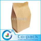 Brown Paper Takeaway Food Packaging Bag