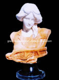 Stone Statue, Marble Sculpture, Marble Bust (GS-WB-109)