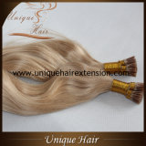 Factory Whoelsale Brazilian Virgin Remy Keratin Human Hair Extensions