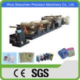High Speed Automatic Kraft Cement Paper Bag Making Machine
