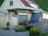 Balcony or Inclined Roof Solar Thermal Water Heater
