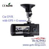 Hot Mini Portable Dual Lens Car Camera DVR Recorder
