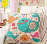 New Design Fashionable Printed Polyester & Cotton Cushion
