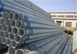 Gi Steel Pipe, Thin Wall Thickness, Plain End, Wrapped With Plastic Cloth