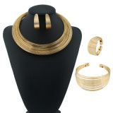 Wholsale Jewellry Silver and Gold Plated Cute Cc Jewelry Sets
