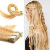 Wholesale Top Quality Virgin Remy Russian Hair Extension, Double Sided Russian Tape Hair