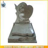 Granite Tombstone European Style Gravestone