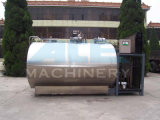 Sanitary Stainless Steel Horizontal Milk Cooling Tank (ACE-ZNLG-5A)