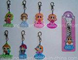 Fashion Cartoon Soft PVC Rubber Garment Zipper Charms