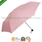 6 Ribs Mini Slim Five Fold Umbrella for Ladies (FU-5619ZF)