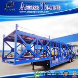 3 Axles Skeleton Car Hauler/Car Transport Semi Truck Trailer