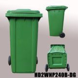 Wholesale 120 / 240 Litre Screen Printing Mobile Recycable Dustbin