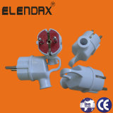 European Style 2 Pin 16A Electrical Power Plug (P8055)