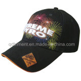 Top Quality Fireworks Embroidery Leisure Sport Baseball Cap (TMB00655-1)