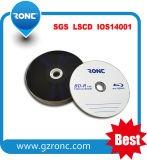 1-4X 25GB Blu-Ray Disc Bd-R Customized Logo
