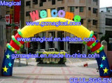 Cute Inflatable Welcome Arch for Children′s Park (MIC-213)