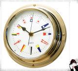 Gl198 Signal Flag Dial 180mm Nautical Quartz Clock