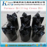 Furnace Blast Hole Tapping Carbide Cross Bits