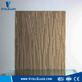 Bronze Patterned Glass/Figured Glass/Fylfot/Ripple Tinted Float Glass