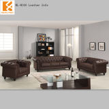 Foshan Newland Furniture ,Home Furniture ,Hot Sale Classical 1+2+3 Set Leather Sofa (NL-H006)