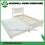 Modern Furniture Wooden Single Bed with Drawer